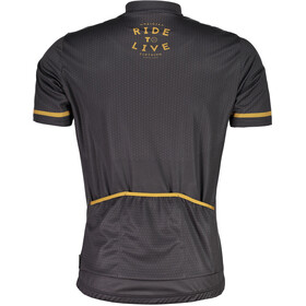 Maloja PushbikersM. Basic Short Sleeve Bike Jersey Men moonless